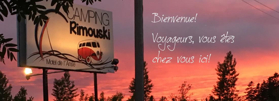 Directions camping rimouski et motel de l 39 anse for Motel le bic